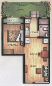 Bali Oasis One Bedroom Unit Ground Floor