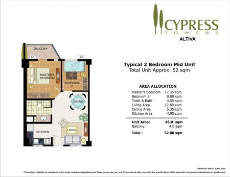 Cypress Towers 2 Bedroom