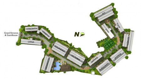 Magnolia Place Site Map